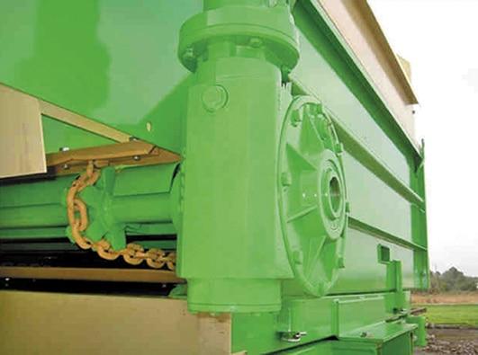 Epandeur porté réducteur hydraulique