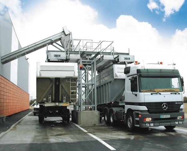 Chargement automatique de camions